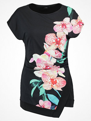 Wallis DOTTY ORCHID Tshirt med tryck black