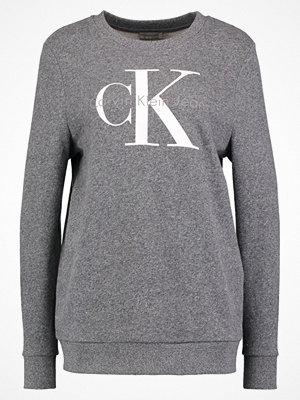 Tröjor - Calvin Klein Jeans TRUE ICON Sweatshirt black heather