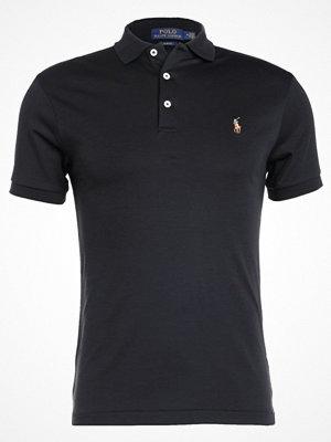 Pikétröjor - Polo Ralph Lauren SLIM FIT Piké black