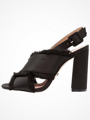 Sandaler & sandaletter - Topshop REEF FRINGE  Sandaletter black