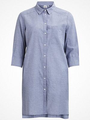 Object Skjorta light blue denim