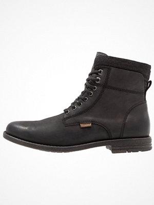 Boots & kängor - Levi's® EMERSON COLLAR Snörstövletter regular black