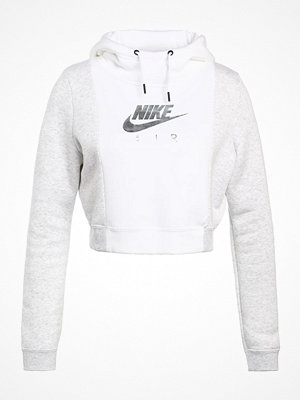 Tröjor - Nike Sportswear RALLY AIR Sweatshirt white/birch heather/white
