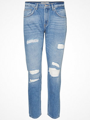 Jeans - Vero Moda LUCY Jeans straight leg medium blue denim