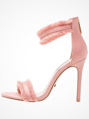 Sandaler & sandaletter - Topshop RILEY FRINGE Sandaletter nude