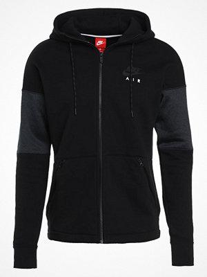 Street & luvtröjor - Nike Sportswear AIR Sweatshirt black/anthracite/black