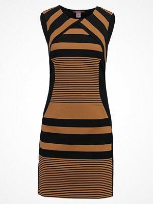Anna Field Jerseyklänning beige/black