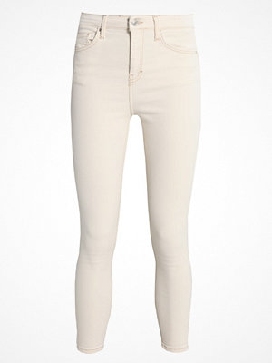 Jeans - Topshop JAMIE NEW Jeans Skinny Fit cream