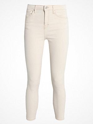 Topshop JAMIE NEW Jeans Skinny Fit cream
