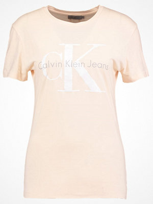 Calvin Klein Jeans SHRUNKEN TRUE ICON  Tshirt med tryck dawn