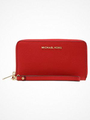 Plånböcker - MICHAEL Michael Kors JET SET TRAVEL Plånbok bright red