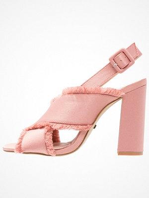 Sandaler & sandaletter - Topshop REEF FRINGE  Sandaler & sandaletter nude