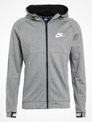 Street & luvtröjor - Nike Sportswear Sweatshirt grey heather/black/white
