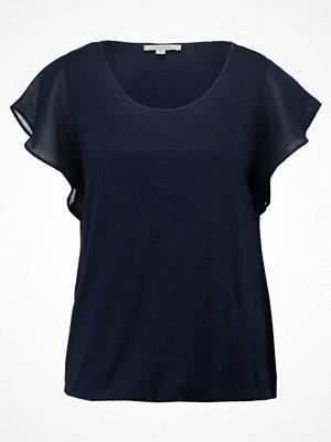 comma casual identity Tshirt med tryck marine
