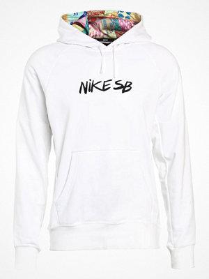 Nike Sb DRY QUILT Luvtröja white/black