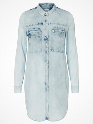 Skjortor - Vero Moda Skjorta light blue denim