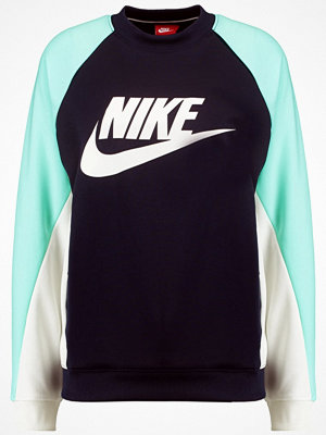 Tröjor - Nike Sportswear Sweatshirt obsidian/mint foam/sail