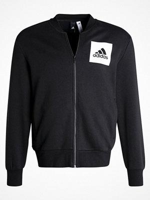 Adidas Performance ESSENTIALS BOMBER Sweatshirt black