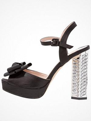 Sandaler & sandaletter - Dorothy Perkins SARINA Platåsandaletter black