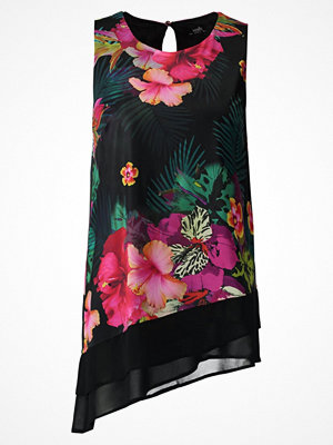 Wallis TROPICAL  Blus black