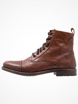 Boots & kängor - Levi's® EMERSON Snörstövletter medium brown