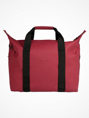 Rains WEEKEND BAG Weekendbag scarlet