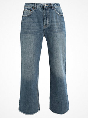 Topshop WOODSTOCK AWK Flared jeans blue