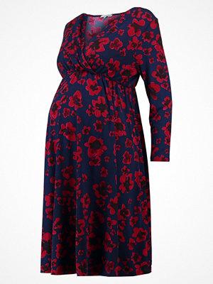 Anna Field MAMA Jerseyklänning red/dark blue