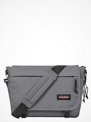 Väskor & bags - Eastpak DELEGATE/MAY SEASONAL COLORS Axelremsväska woven grey