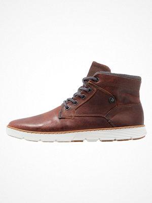 Boots & kängor - Pier One Snörstövletter dark brown