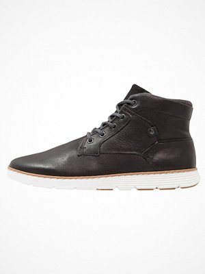 Boots & kängor - Pier One Snörstövletter black