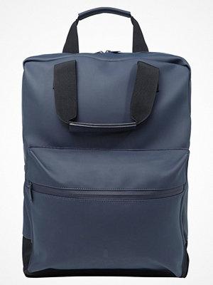 Rains SCOUT BAG Ryggsäck blue omönstrad