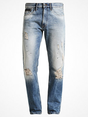 Calvin Klein Jeans OIL SPLASH Jeans straight leg oil splash