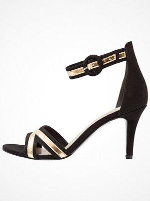Tamaris Sandaletter black/gold