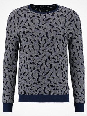 Calvin Klein SARUSH JACQUARD Stickad tröja true navy
