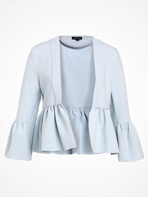 Kavajer & kostymer - Topshop BELLA CROP Blazer light blue