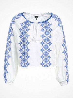 Topshop POMPOM  Blus white