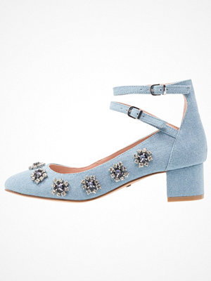Topshop JAIDA GEM MID BLOC Pumps middenim