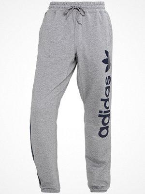 Adidas Originals Träningsbyxor mottled grey/dark blue