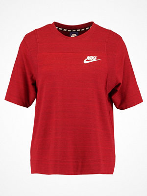 Nike Sportswear Tshirt med tryck fusion red/white