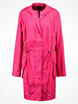 New Look Curves Parkas bright pink