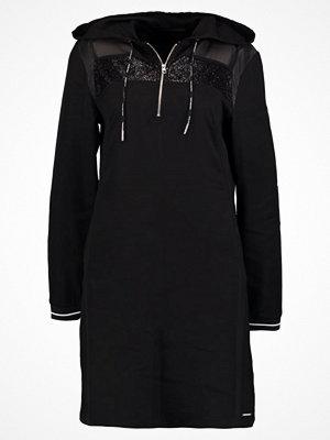 Calvin Klein Jeans DANIQUE COATED Sommarklänning ck black
