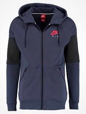 Street & luvtröjor - Nike Sportswear AIR Sweatshirt thunder blue/anthracite/university red