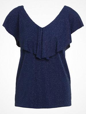 Modström CAISA  Tshirt med tryck rich blue