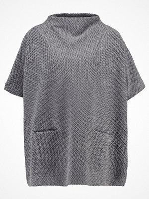 Opus AMBERLEY Tshirt med tryck iron grey melange