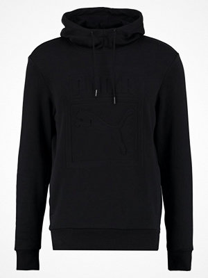 Tröjor & cardigans - Puma ARCHIVE EMBOSSED  Luvtröja black