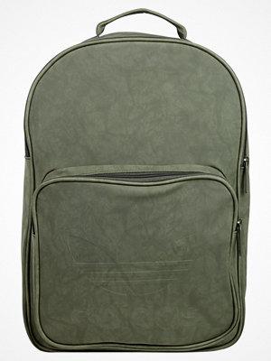 Adidas Originals CLASSIC Ryggsäck dark green omönstrad