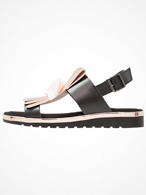 Tamaris Sandaletter med kilklack black/rose metallic