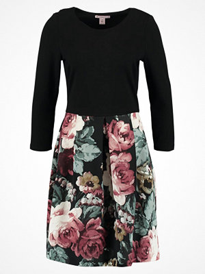 Anna Field Jerseyklänning rose/black