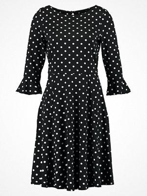 Wallis SPOT FLUTE SLEEVE Jerseyklänning black